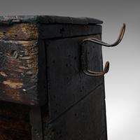 Antique Industrial Machinist's Truck, English, Trolley, Kitchen, Wine, Victorian (10 of 12)