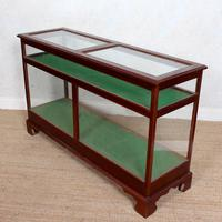 Shop Display Cabinet Glazed Mahogany 19th Century Glass (2 of 8)
