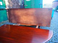 Large George IV Mahogany Dining Table by M. Willson, London (7 of 20)