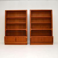 Pair of Danish Vintage Teak Bookcases by Dyrlund (2 of 12)