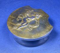 Victorian French Box With A Cherub To the top of the lid. (7 of 19)
