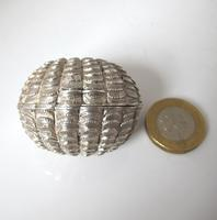 Stunning Victorian Silver Novelty Clam Shell Nutmeg Grater Hilliard & Thomason Birmingham 1874 (11 of 11)