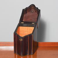 George III Inlaid Mahogany Knife Box (3 of 9)