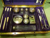 Quality French Fitted Travel – Vanity Box. c1880 (9 of 13)