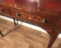 Edwardian Inlaid Rosewood Desk (9 of 23)