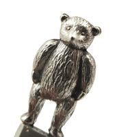 Antique Edwardian Sterling Silver Bear Propelling Pencil 1909 (5 of 9)