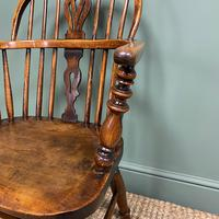 Stunning Country House Elm & Ash Antique Windsor Chair (2 of 7)