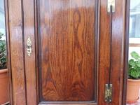Country Oak Formal Hanging Corner Cupboard 1760 (3 of 10)