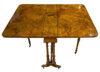Victorian Walnut Sutherland Table c.1870 (5 of 7)