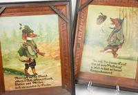 Pair of Hunting Dogs Novelty Oil Paintings (2 of 9)