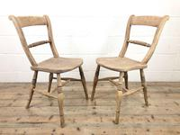 Pair of Chairs with Rope Twist Backs (3 of 10)