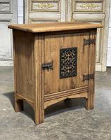 Small Bleached Oak Cupboard (4 of 20)