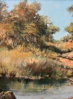Francois Badenhorst S.A - South African Bush Landscape Oil Painting (4 of 12)