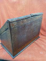 Antique Victorian Letter Sorter Writing Box Burl Walnut Veneer C1880s (7 of 12)