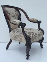 19th Century Rosewood Armchair (2 of 4)