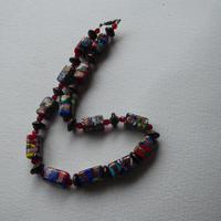 Venetian Glass Millefiore Bead Necklace (9 of 11)