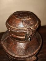 18th Century Iron Banded & Riveted Cream Can (6 of 13)