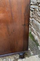 Regency Mahogany Bow Fronted Column Chest of Drawers (19 of 21)