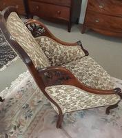 Mahogany Bedroom Armchair (2 of 6)