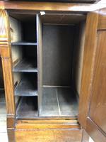 Edwardian Cylinder Roll Top Bureau Desk (10 of 13)