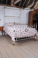 Beautiful Victorian King Size Half Tester Bed (5 of 11)