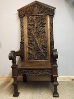 Gothic Revival Throne (20 of 20)