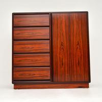 Danish Vintage Rosewood Gentleman's Wardrobe / Chest by Brouer (2 of 15)