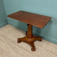 Spectacular William IV Adjustable Antique Reading Table / Library Table (6 of 8)