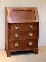 Arts and Crafts Oak Bureau (5 of 11)