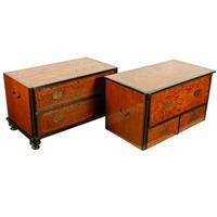 19th Century China Trade Campaign Chest (7 of 8)