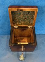 18th Century Harewood Inlaid Single Mahogany Tea Caddy (18 of 18)
