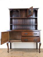 Early 20th Century Oak Dresser (5 of 9)