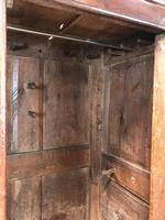 Large Antique 18th Century Welsh Oak Press Cupboard (M-808) (13 of 18)