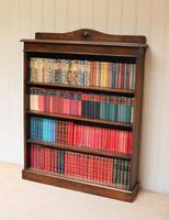 Oak Open Bookcase c.1910 (5 of 10)