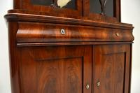 Antique French Walnut Bookcase on Cupboard (5 of 11)