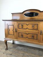Early 20th Century Antique Oak Sideboard (3 of 13)