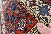 Antique Shassavan long rug 382x126cm (4 of 9)