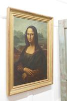 Large 19th Century Unsigned French Oil Painting, Study of an Italian Lady (6 of 16)