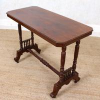 Library Desk Writing Table Mahogany 19th Century (11 of 13)