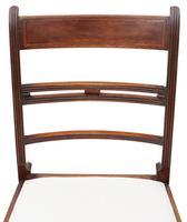 Set of 8 Georgian Mahogany Dining Chairs 19th Century c.1800 (6 of 7)