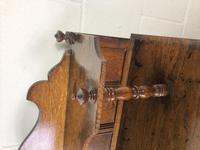 Antique Arts & Crafts Oak Sideboard Cupboard (9 of 11)