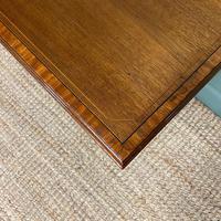 Elegant Edwardian Mahogany Antique Writing Table (5 of 7)