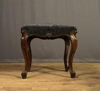 Useful Victorian Rosewood Stool (11 of 11)