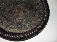Large Wilhelm Schiller Pottery Dish, Framed (3 of 7)