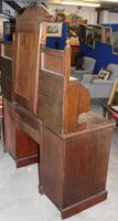Large 1900's Mahogany & Rosewood Dressing Table with Inlay (4 of 5)