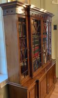 Late Victorian Mahogany 4 Door Library Bookcase (11 of 13)