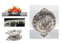 Small Victorian Silver Strawberry Dish - London 1886 (4 of 4)