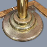 Very Large Pair of Brass Column Lamps (5 of 6)