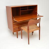 1960's Danish Teak Vintage Writing Bureau (2 of 12)