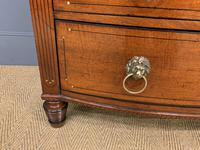 Regency Inlaid Mahogany Chest of Drawers (12 of 18)